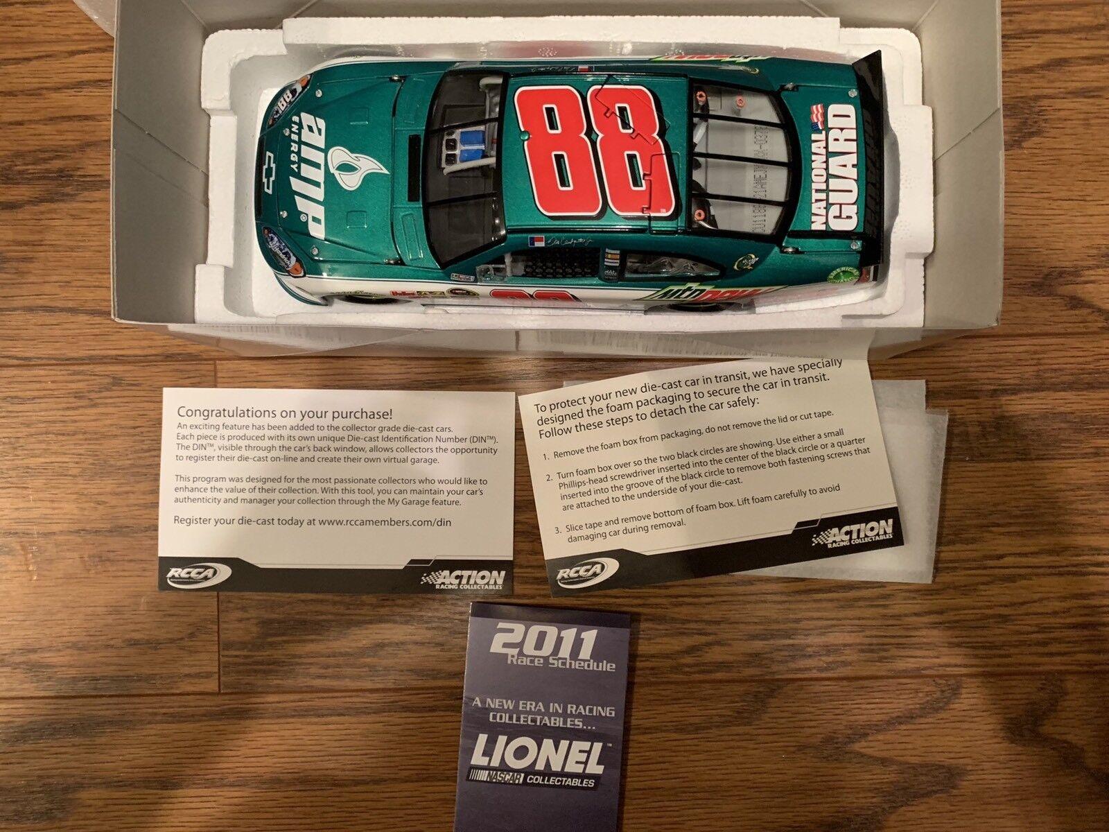 Dale Earnhardt Jr. AMP Energy 1 24 NASCAR Action New In Box
