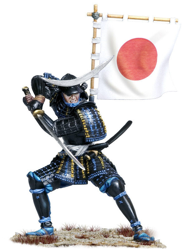 Andrea Miniatures Japanese Samurai Date Masamune 75mm Model Unpainted kit