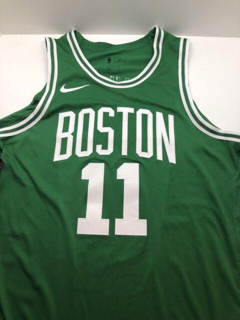 7d32bb8c51f0 NIKE AUTHENTIC ICON KYRIE IRVING BOSTON CELTICS NBA JERSEY GREEN WHITE sz  40 S