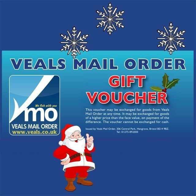 Veals Mail Order Sea Fishing Gift Vouchers