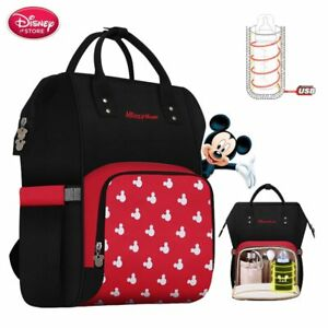 2c7c1a4e9cc Image is loading NEW-Baby-Disney-Diaper-Bag-Backpack-Bottle-Insulation-