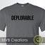 Deplorable Trump MAGA Funny T-Shirt Political President S M L XL 2XL 3XL Unisex