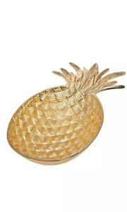 Godinger Gatherings Gold Finish Large Pineapple Decorative Bowl Ebay