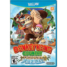 Donkey Kong Country: Tropical Freeze (Nintendo Wii U, 2014)