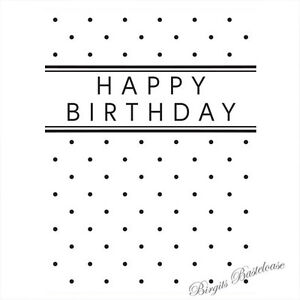 Praegefolder-Happy-Birthday-Embossing-Folder-D-545-Trouvaille