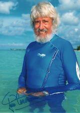 Jean-Michel Cousteau AUTOGRAFO SIGNED 20x30 cm immagine