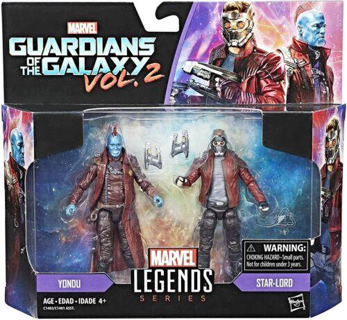 "Yondu /& Star-Lord Marvel Legends Series 3.75/"" Twin Pack Figures Brand New"