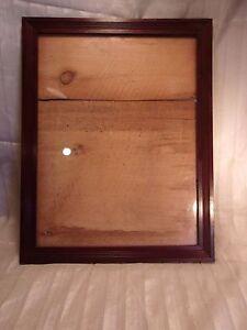 Antique Walnut Document Frame 18 12 X 23 Holds 15 34 X 20 34