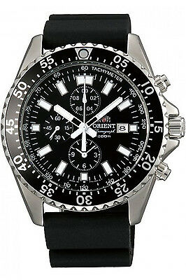 ORIENT FTT11004B0,Men Chronograph,QUARTZ,Brand New,200m WR,WITH TAG AND GIFT BOX