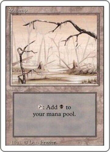 Revised 3rd Edition Revised Basic Land Lot MTG Same Art 20x Swamp High Branch