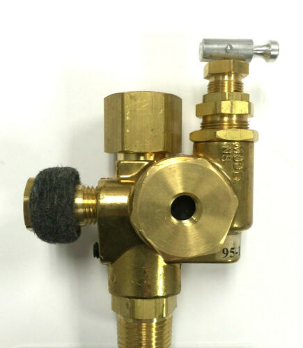 1//2/'/' GAS POWERED AIR COMPRESSOR PILOT CONTROL UNLOADER CHECK VALVE 95//125 PSI