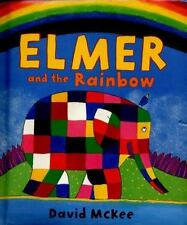 Elmer: Elmer and the Rainbow by David McKee (2016, Board Book)