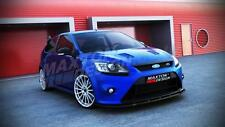 FRONT SPLITTER (TEXTURED) - FORD FOCUS MK2 RS (2008-2011)