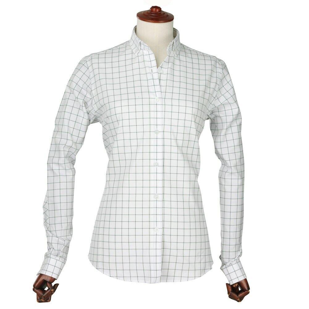 Laksen Mildrot Damen Baumwolle Oxfordhemd Oxfordhemd Oxfordhemd b3a97c
