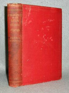 Antique-British-Empire-Book-East-India-Company-Sepoy-Mutiny-Rebellion-Opium-1894