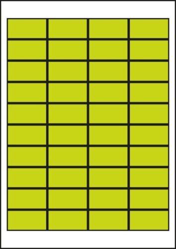 Etiketten Inkjetetiketten Laseretiketten 48,5 x 25,4 Adressetiketten 3657 4474