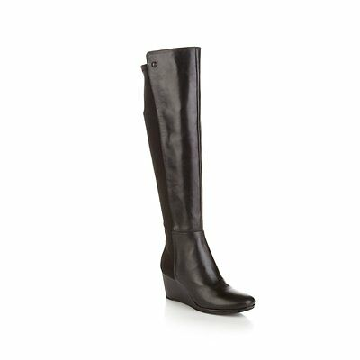 "Vince Camuto ""Alexila"" Over-the-Knee Stretch Wedge Boot 359755"