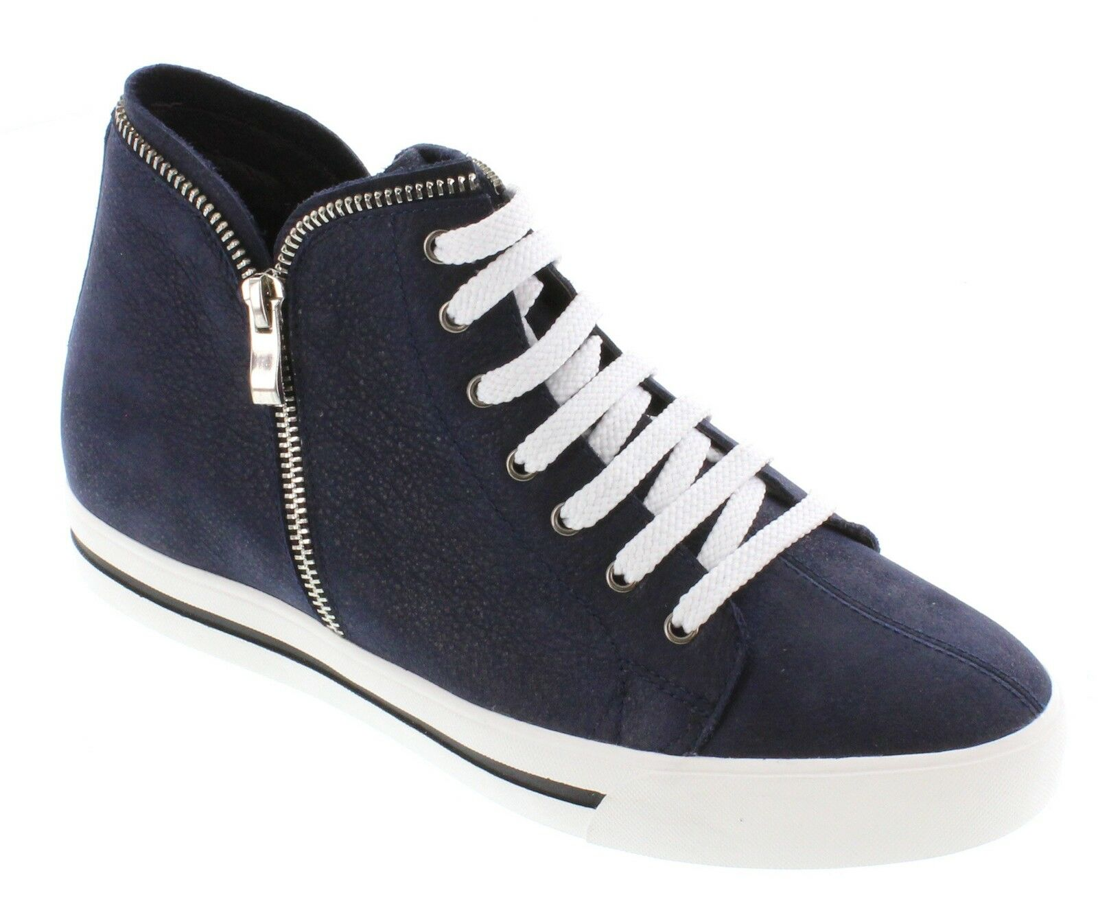 TOTO H08103 - 2.4 Inches Elevator Height Increase Navy bluee Suede Sneaker