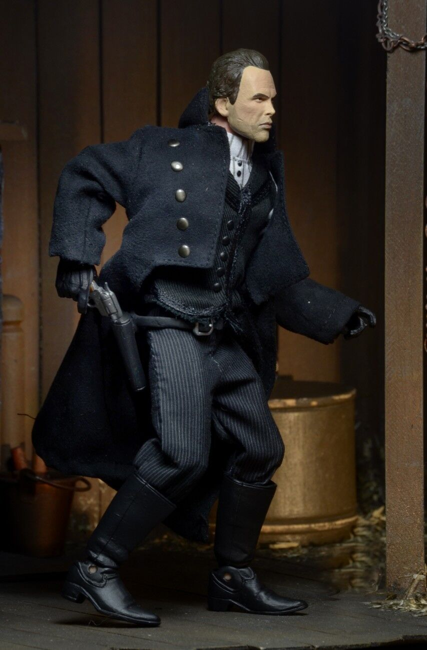 HATEFUL EIGHT: SHERIFF CHRISS MANNIX  the SHERIFF  WALTON GOGGINS 8″ ACTION FIG