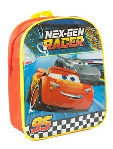 386904ce864 Disney Cars Backpack Red Lightning McQueen 31 cm Boys Kids Nex-Gen ...