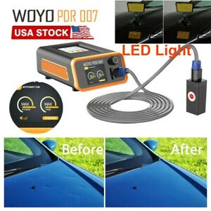 WOYO PDR007 Automotive Body Paintless Dent Remove Fast Repair Tool +LED Light US