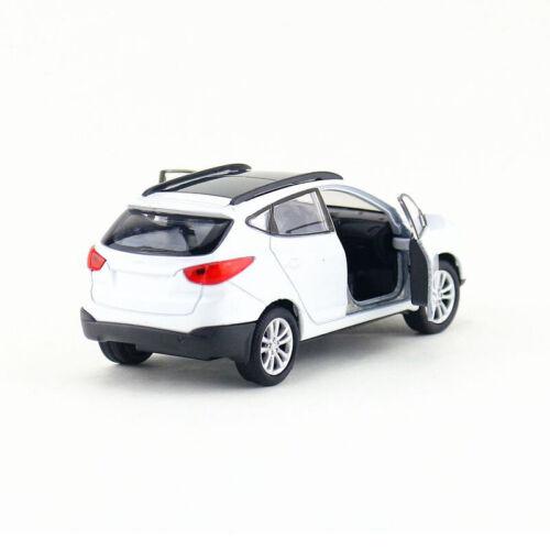 1:36 Hyundai Tucson IX35 SUV Metall Die Cast Modellauto Auto Model Spielzeug