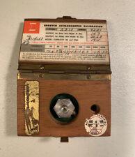 Endevco Accelerometer Calibration Model 2213 In Original Box Free Shipping 349