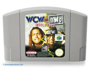 N64/Nintendo 64 juego-WCW vs nWo World Tour módulo