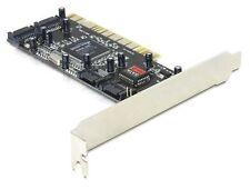 4 Port PCI SATA Controller Karte Raid 32-Bit PCI