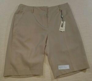 Sport Haley Bermudas Pantalones Cortos De Golf Para Mujer Talla 6 Color Caqui Bronceado Nuevo Stretch W 31 Ebay