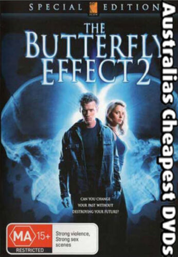 1 of 1 - The Butterfly Effect 2 DVD NEW, FREE POSTAGE WITHIN AUSTRALIA REGION 4