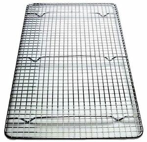 Cross-Wire Grid Cooling Rack, Wire Pan Grate Baking Rack, Icing Rack, set of 2