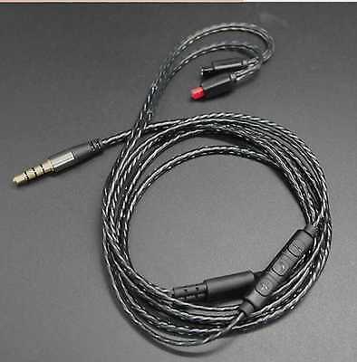 Mic Remote Control Talk Cable Cord for  Audio Technica ATH-IM01 IM03 IM70 IM50.