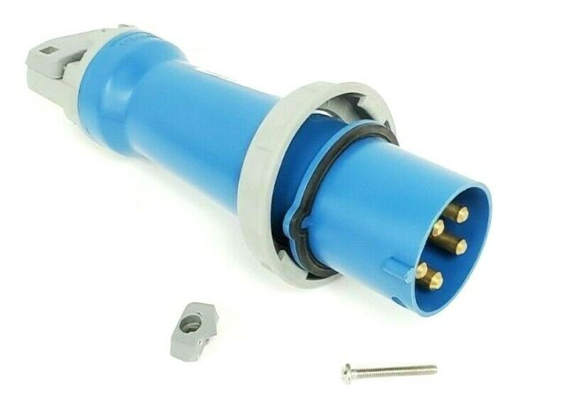 Hubbell 5100P9W 100A Pin And Sleeve Plug