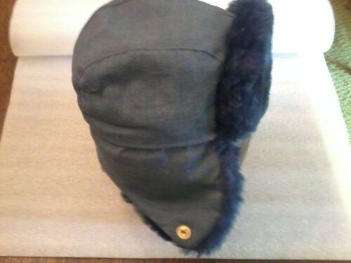XLarge Postal Winter Trooper Hat 7-5//8 Langenberg Hat Co. Salesman/'s Sample