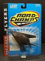"""F-117A Blackjet Stealth,  WS 3-3/8"""" L 4-7/8"""" die-cast by Road Champs (7915)"""