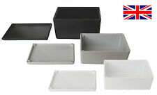 ABS Plastic Small Tiny Enclosure Project Boxes- UK Made- Ideal for Electronics