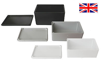 ABS Plastic Small Tiny Enclosure Project Boxes UK Made Ideal for Electronics