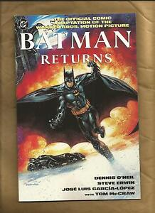 Batman-Returns-movie-adaptation-VFN-NM-1992-1-Graphic-novel-Catwoman-DC-Comics