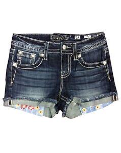 NEW-MISS-ME-Women-Rip-Vintage-Beach-Summer-Frayed-Hem-Denim-shorts-Jeans