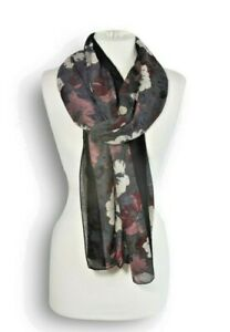 Miss-Shorthair-Grey-Muted-Floral-Scarf-Beige-Red-Blue-Winter-Scarves-Wrap-Shawl