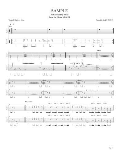 Giant Digital Guitar Tab TIME TO BURN Lessons on Disc Tablature Dann Huff