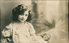 'Janie Crowther' 'Mary Alice' Girl Doll. Notes verso   RH.371