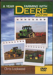 FARMING TRACTOR DVD: A YEAR FARMING WITH JOHN DEERE - Part one