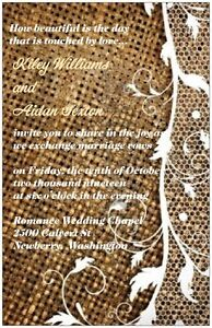 30-50-80-100-150-Country-Rustic-BURLAP-LACE-6x9-PERSONALIZED-WEDDING-Invitation