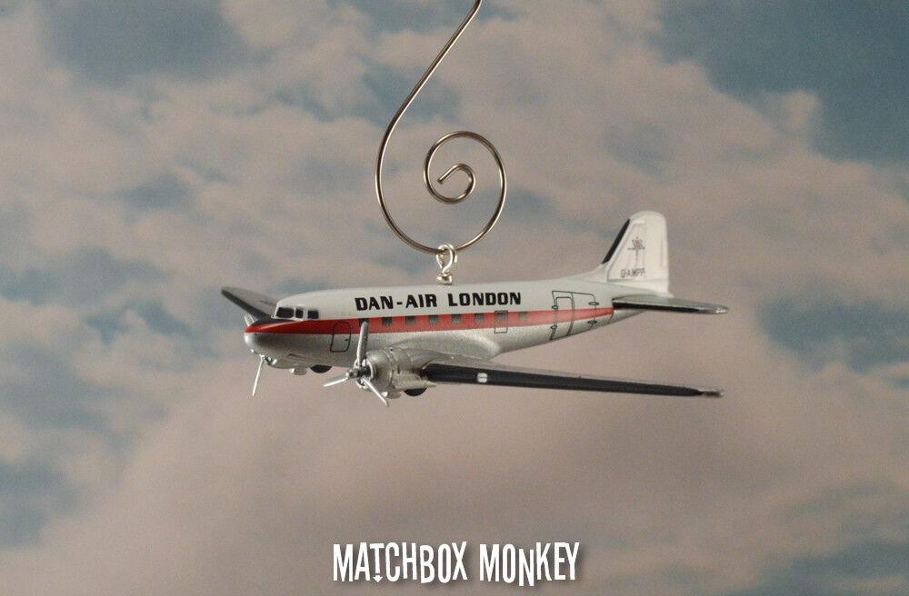 Dan air london douglas dc-3 brauch weihnachten schmuck flugzeug flugzeug flugzeuge