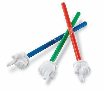 Learning Resources Hand Pointers Set of 3 Size:15 in small and large (BRAND NEW)