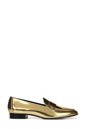 5m Furstenberg Von 6 pelle 5 metallizzata in Diane Us Mocassini oro Eur36 Uk3 Taglia 5 65pUxnwF