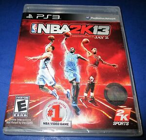 NBA-2K13-Sony-PlayStation-3-PS3-Factory-Sealed-Free-Shipping