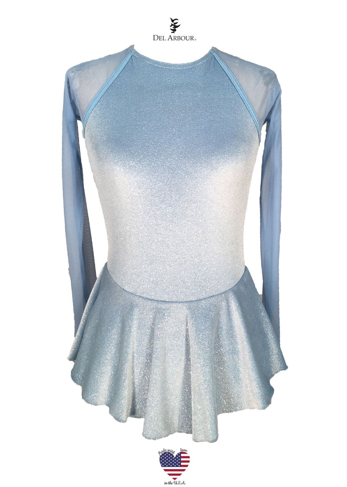 Figure Skating Dress - OFFICIAL DEL ARBOUR FIRST GLIDE 4